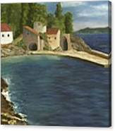 Quiet Cove Canvas Print