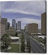 Quiet Day In  Phoenix Canvas Print