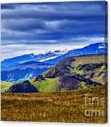 Quiet Hill Canvas Print