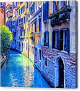 Quiet Morning In Venice Canvas Print