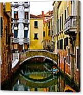 Quiet Venice Morning Canvas Print