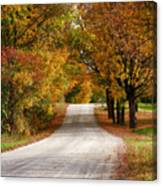 Quiet Vermont Backroad Canvas Print