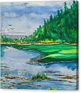 Quiet View Canvas Print