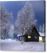 Quiet Winter Times Canvas Print