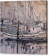 Quileute Marina - Bananas Canvas Print