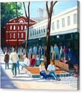 Quincy Market Canvas Print