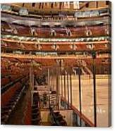 Quite Time Chicago United Center Before The Gates Open Vertical Canvas Print