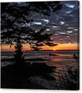 Quoddy Sunrise Canvas Print