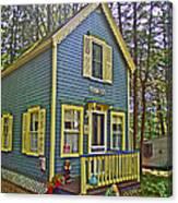 R Blue Heaven In Asbury Grove In South Hamilton-massachusetts Canvas Print