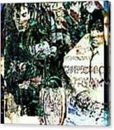 R E M / Exit Chronic Town Canvas Print