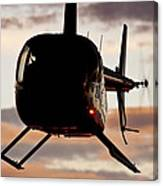 R44 At Sunset Canvas Print