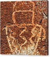 Shaman Petroglyph C Canvas Print