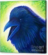 Raaawk Canvas Print