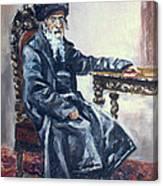 Rabbi Meisels Canvas Print