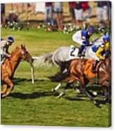 Race 6 - Del Mar Horse Race Canvas Print