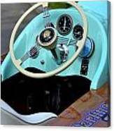 Race Boat Dash Canvas Print