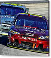 Race Day 1 Canvas Print