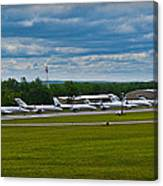 Race Week 2014 Pocono Airport  Canvas Print