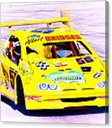 Racer Canvas Print