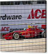 Racing At Reliant Canvas Print