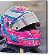 Racing Helmet 3 Canvas Print