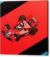 Racing Stripes Canvas Print