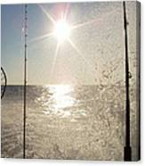 Racing To The Fishing Grounds Canvas Print