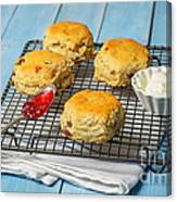 Rack Of Scones Canvas Print