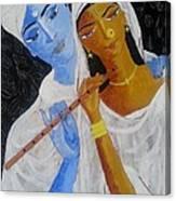 Radhakrsna Canvas Print