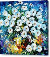 Radiance 2 - Palette Knife Oil Painting On Canvas By Leonid Afremov Canvas Print