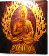 Radiant Buddha  Canvas Print
