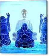 Radiant Buddhas Canvas Print