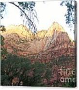 Radiant Canyon Wall Canvas Print