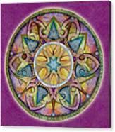 Radiant Health Mandala Canvas Print