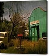 Radiator Shop Repair Canvas Print