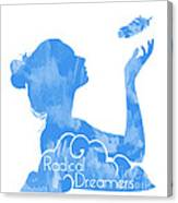 Radical Dreamers Logo Canvas Print