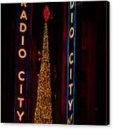 Radio City Christmas Canvas Print