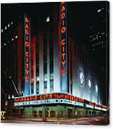 Radio City Music Hall In New York City Canvas Print