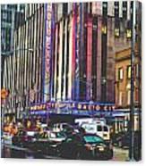 Radio City Music Hall New York City- 1 Canvas Print