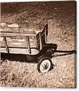 Radio Flyer Trav-ler Wagon Canvas Print