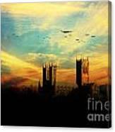 Raf Bomber Command  Canvas Print
