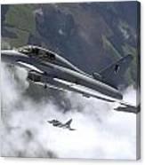 Raf Typhoon Canvas Print