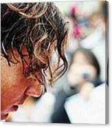 Rafael Nadal From Up Close Canvas Print