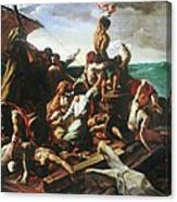 Raft Of The Medusa - Detail Canvas Print