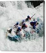 Rafter's Get Submerged Canvas Print