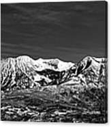 Ragged Mountain Colorado Canvas Print