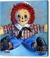 Raggedy Andy Canvas Print