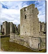 Raglan Castle - 3 Canvas Print