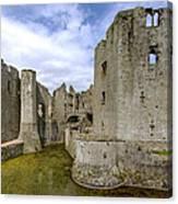 Raglan Castle - 4 Canvas Print