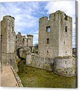 Raglan Castle - 5 Canvas Print